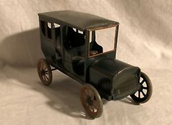 Early German Wind Up Tin Toy Car Bing Carrette 1920s