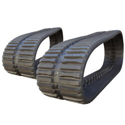 Pair Of Prowler Rubber Tracks For John Deere Ct329d At Tread - 450x86x56 - 18