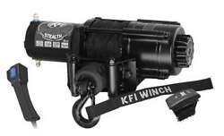 4500lb Kfi Stealth Synthetic Rope Winch Kit - Utv For Jeep Truck Buggy Sand Rail