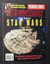 1994 July Sci Fi Universe Magazine 1 Fvf 7.0 Star Wars / Planet Of The Apes