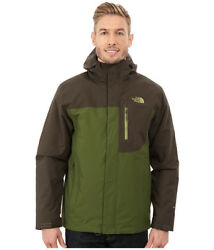 The North Face - Carto Triclimate Jacket (Scallion GreenBlack Ink Green) ..