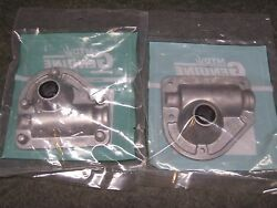 Mtd 918-0123a Right 918-0124a Left Gear Box Housing Combo Genuine Snow Blower