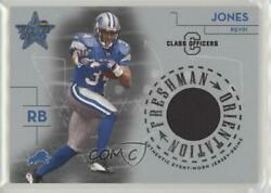 2004 Leaf Rookies And Stars Class Officers /100 Kevin Jones Fo-17 Rookie