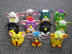Mcdonalds Happy Meal Toys 1998 Vintage 11 Furby's M-162
