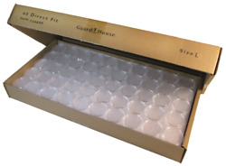 Bx Of 250 Guardhouse 40 Mm Direct Fit Capsules For Silver Eagle 724690