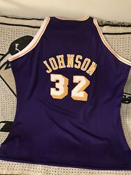 Magic Johnson Los Angeles Lakers Authentic Mitchell And Ness Throwback Jersey Sz60