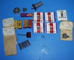 Vintage Gas Powered Airplane Parts N.O.S. some rare