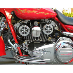 Love Jugs Polished Stainless Cool Master Harley Cooling Fans And Wc Frame Mount
