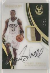 2016-17 Panini Immaculate Jersey Number /21 Tony Snell P-ts Patch Auto