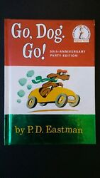 Go Dog Go by PD Eastman 50th anniversary party edition