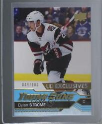 2016-17 Upper Deck Young Guns Exclusives /100 Dylan Strome 498 Rookie