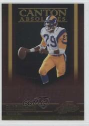 2006 Playoff Absolute Memorabilia Canton Absolutes Gold /100 Eric Dickerson Hof