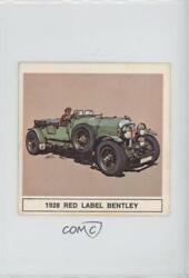 1960's The B-a Gallery Of Great Cars 1928 Red Label Bentley Rlbe