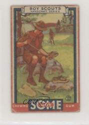 1933 Goudey Boy Scouts Food Issue Handicraft Series Homemade Moccasins 20 0s4