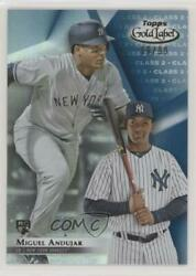 2018 Topps Gold Label Class 2 Blue /99 Miguel Andujar 75 Rookie