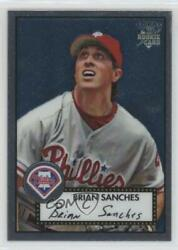 2006 Topps And03952 Chrome Rookie Cards /1952 Brian Sanches Tcrc29