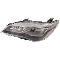 Left Headlamp for 2015-2017 TOYOTA CAMRY