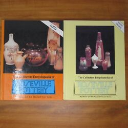 Roseville Pottery Identification Guide Books By Huxford 1st And 2nd Series Lot