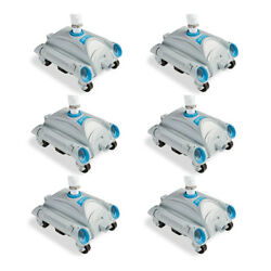 Intex Automatic Above-ground Pool Vacuum For Pumps 1,600-3,500 Gph 6 Pack