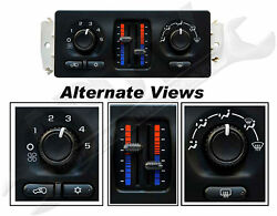 APDTY 600115 AC Heater Dashboard Climate Control Switch Control Head Module