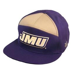 James Madison University Foundation JMU Dukes Snapback 7 Panel Baseball Cap Hat $23.50