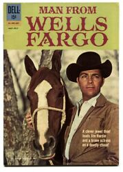 Man From Wells Fargo 01-495-207 1962-dell-dale Robertson-vf/nm