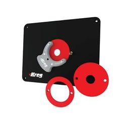 Kreg Molded Router Table Insert Plate Blank, For All Routers