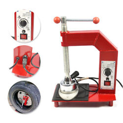 220v Automatic Thermostat Tire Repair Tool Portable Tyre Vulcanizing Machine Us