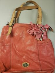 Fossil red bag $15.00