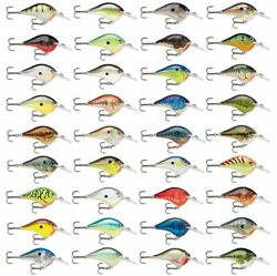 Rapala Dives-to // Dt10 // 6cm 17g Fishing Lures Various Colors