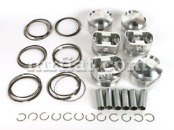 Fiat Dino 2000 Forged Piston Set 1st Oversize 86.5c High Compression New