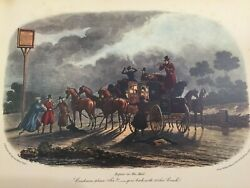 Vintage Repose In The Mail After C.b. Newhouse 1835 Print