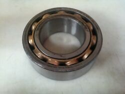 Skf 5218m Double Row Bearing - Machined Brass Cage Made In Usa. Rust 2