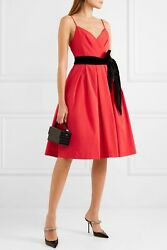 J Crew Disc Faille Dress With Velvet Sash 4 Or 6 Gorgeous!! Holiday