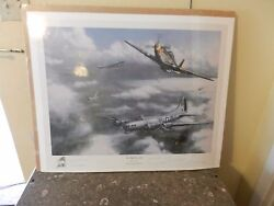 The Fight Goes On By Kevin T. Daniel World War Ii Print Signed Le 267/500