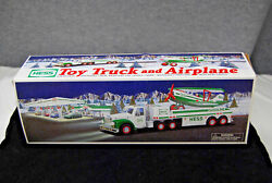 2002 Hess Toy Truck And Airplane Mint New In Box - Free Shipping