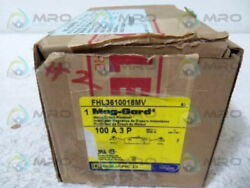 SQUARE D FHL3610018MV MOTOR CIRCUIT PROTECTOR 100A MAG-GARD * NEW IN BOX *
