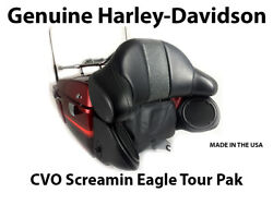 Genuine Harley Davidson CVO Screamin Eagle Tour Pak Speaker Pods Airwing Rack