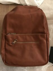 New - Fawn Design + Pask Brown Unisex Full Sized Back pack Diaper Bag Purse