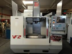 Haas VF-2 2000 Rigid Tapping Chip Auger 10000 RPM 20-HP Prog Coolant