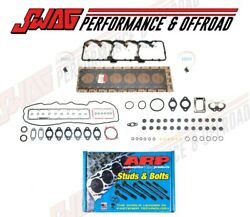 Cylinder Head - Valve Cover Gasket Set With Arp Head Studs For 07-16 Cummins 6.7