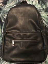 Fawn Design + Pask Black Full Sized Back pack Diaper Bag Purse LE Retired