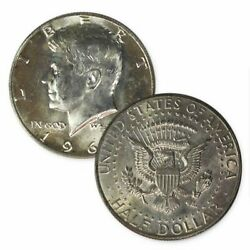 40 Silver Kennedy Half Dollars Average Circulated 1 Face Value