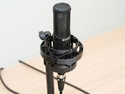 Sony Condenser Microphone High Res Response Side Address Type Ems W/tracking New