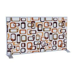 Horizontal Divider Screen Room Partition Privacy Home Decor Interlocking Ovals