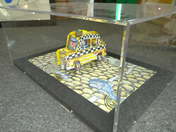 Red Grooms Taxi 3-d Litho Construction Mint Condition Signed And Numbered Ed 400