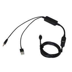 Usb 3.5mm Aux Cable For Bmw Series3 5 Mini Iphone5 6 7 8 X Xs 11 12 13 Pro Max