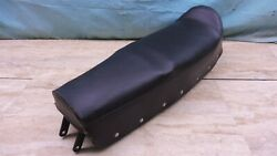 Nos 1960and039s Garelli 50cc Junior Sport Moped Seat Saddle Mint Pl183+