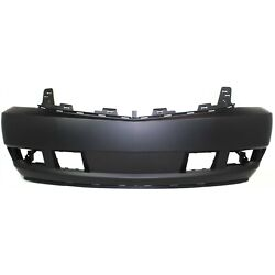 Front Bumper Cover For 2007-2014 Cadillac Escalade W/ Fog Lamp Holes Primed