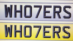 Hooters Cherished Number Who7ers Fun Naughty Bad Boy Cheaky Rude Lads Plate
